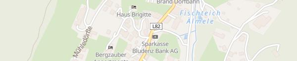 Karte Gemeindeamt Brand