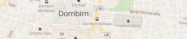 Karte Stadtgarage Dornbirn