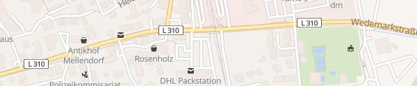 Karte Lidl Wedemark