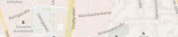 Karte VGH Versicherungen Hannover