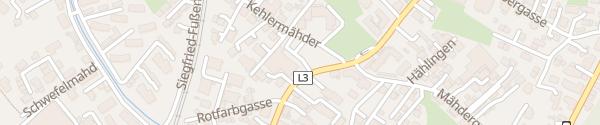 Karte SPAR-Supermarkt Fischbach Dornbirn