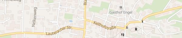 Karte Raiffeisenbank Wolfurt