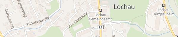 Karte Gemeinschaftshaus Lochau