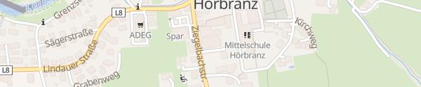 Karte Gasthof Rose - Feinbrennerei Prinz Hörbranz