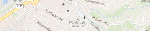 Karte Pfänderbahn Bregenz