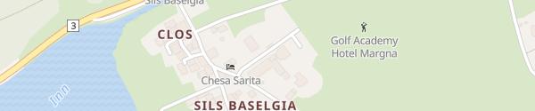 Karte Parkhotel Margna Sils Baselgia