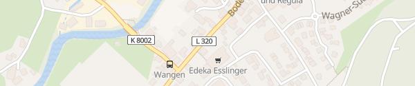 Karte EDEKA Esslinger Neuravensburg