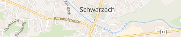 Karte Hauptschule Schwarzach