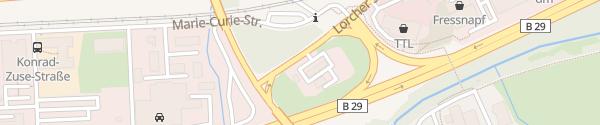 Karte TOTAL Tankstelle Schwäbisch Gmünd