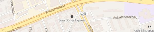 Karte Fiedelerstraße Hannover