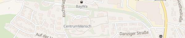 Karte Zentrum Mensch Gaildorf