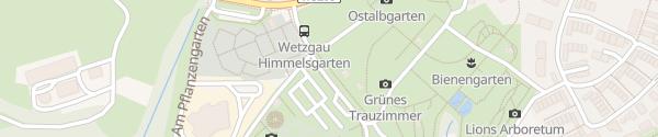 Karte Himmelsgarten Schwäbisch Gmünd