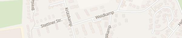 Karte Weidkamp Barmstedt