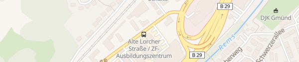 Karte Technische Akademie Schwäbisch Gmünd