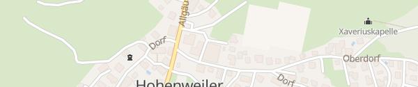 Karte HOKUS Kultursaal Hohenweiler