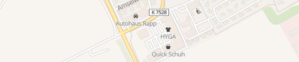 Karte Autohaus Rapp Schemmerhofen