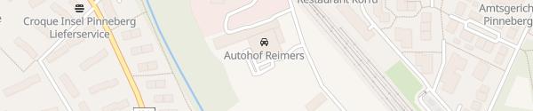 Karte Autohof Reimers Pinneberg