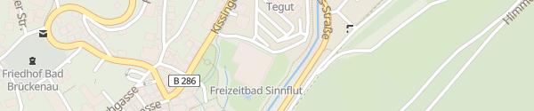 Karte Therme Sinnflut Bad Brückenau