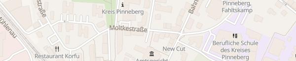 Karte Amtsgericht Pinneberg