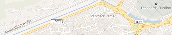 Karte Innenhof Stadtwerke Schwäbisch Gmünd
