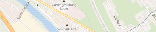 Karte Autohaus Lins Nüziders