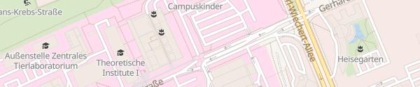 Karte Besucher Parkplatz Medizinische Hochschule Hannover