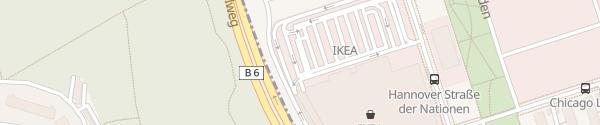 Karte IKEA Expo Park Hannover