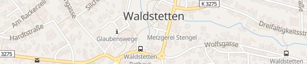 Karte Gmünder Straße Waldstetten