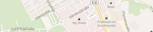 Karte dm Drogerie Markt Wangen im Allgäu