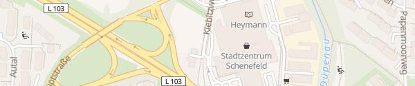 Karte Stadtzentrum Schenefeld Schenefeld
