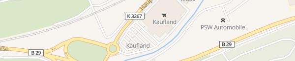 Karte Kaufland Hauptstraße Schwäbisch Gmünd