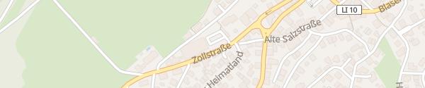 Karte REWE Kehrer Scheidegg