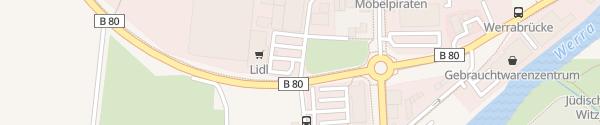 Karte Lidl Witzenhausen