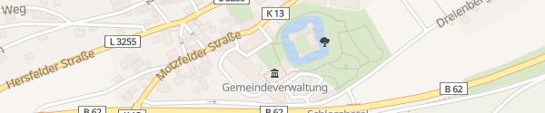 Karte Göbels Schlosshotel Friedewald