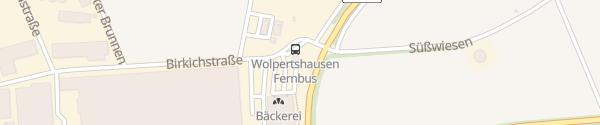 Karte Destination Charger Bäuerliche Erzeugergemeinschaft Wolpertshausen