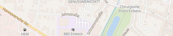 Karte PS.SPEICHER Einbeck