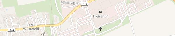 Karte Parkplatz Hotel Freizeit In Göttingen