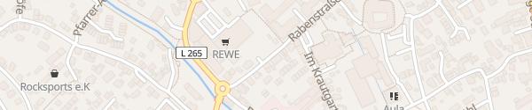 Karte Parkhaus Rabenstraße Laupheim