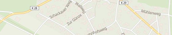 Karte Wallweg Hofbieber