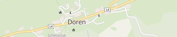 Karte Gemeindeamt Doren
