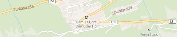 Karte Damülser Hof Damüls