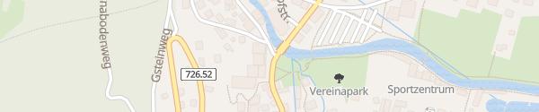 Karte Silvretta Parkhotel Klosters-Serneus
