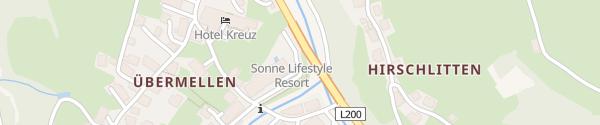 Karte Sonne Lifestyle Resort Bregenzerwald Mellau