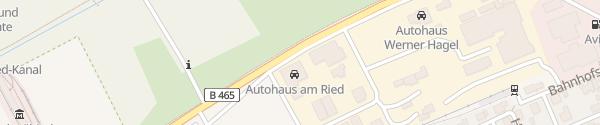 Karte Autohaus am Ried GmbH & Co. KG Bad Wurzach