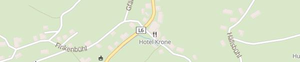 Karte Seminarhotel Krone Langenegg