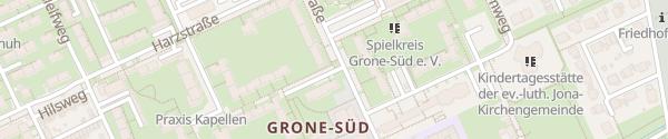 Karte Deisterstraße Göttingen