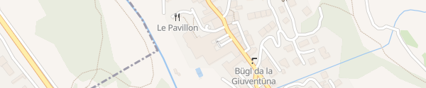 Karte Grand Hotel Kronenhof Pontresina