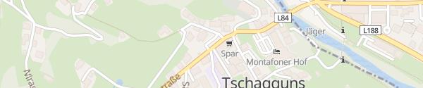 Karte Gemeindeamt Tschagguns