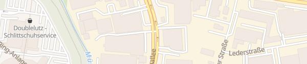 Karte Schnellladesäule am Volkspark Hamburg