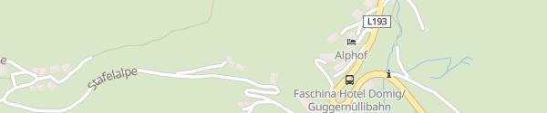 Karte Hotel Domig Faschina